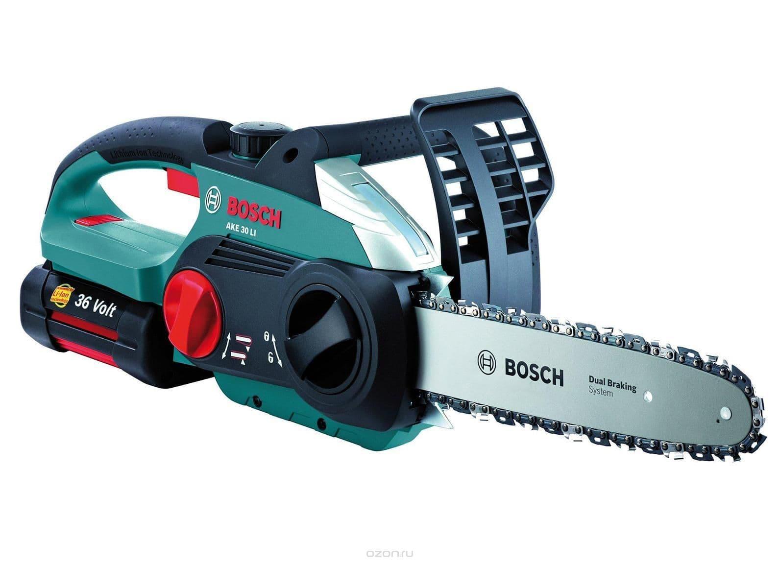 пила Bosch AKE 30 LI