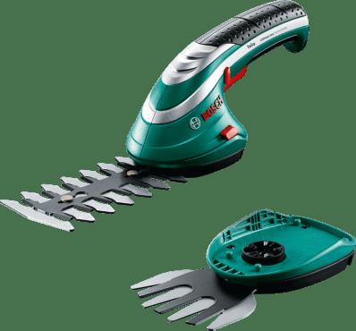 653532_600_370_Аккумуляторные ножницы для кустов и травы Isio 3 Код 15066