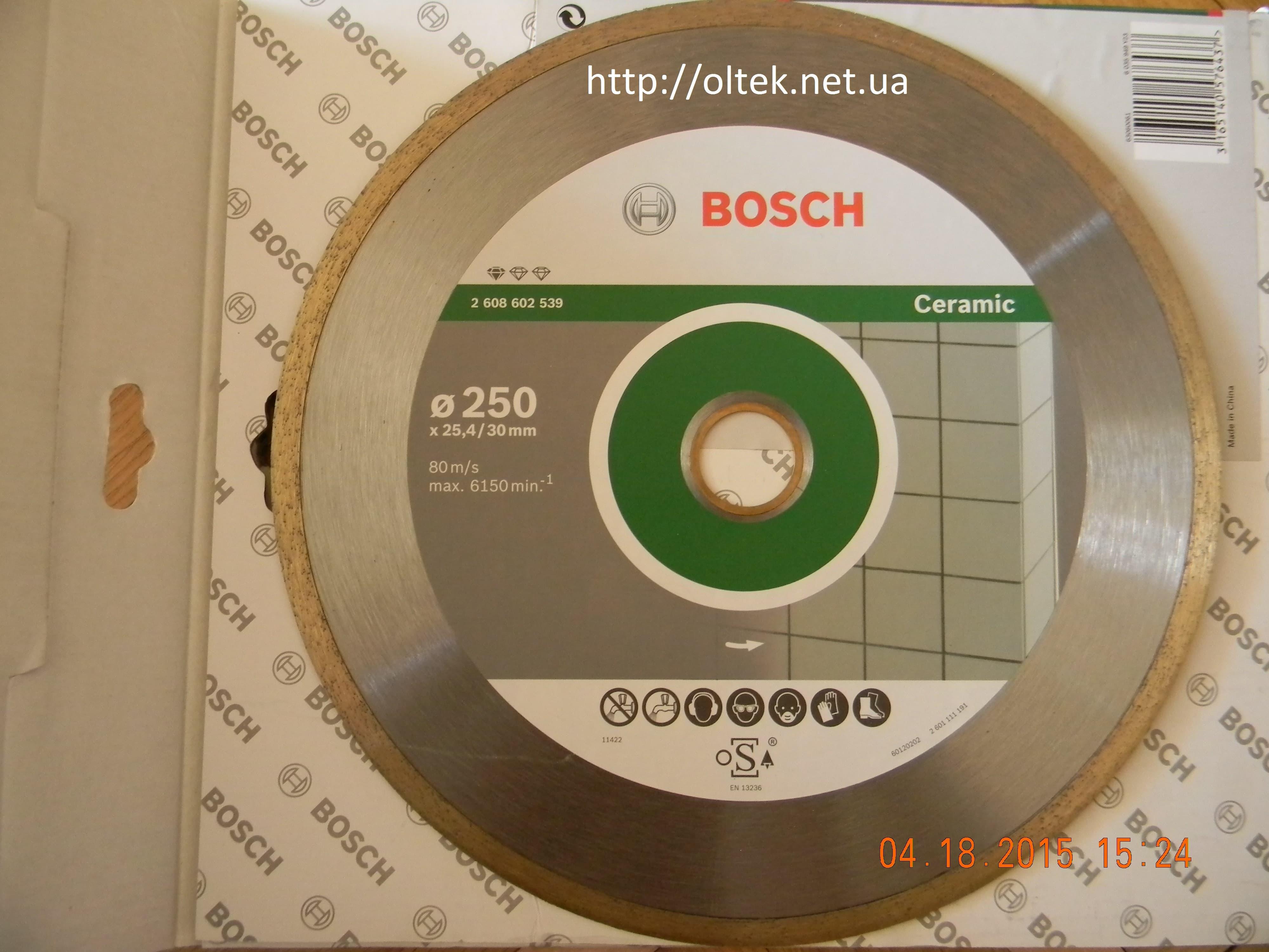 диск 250 для плитки Bosch