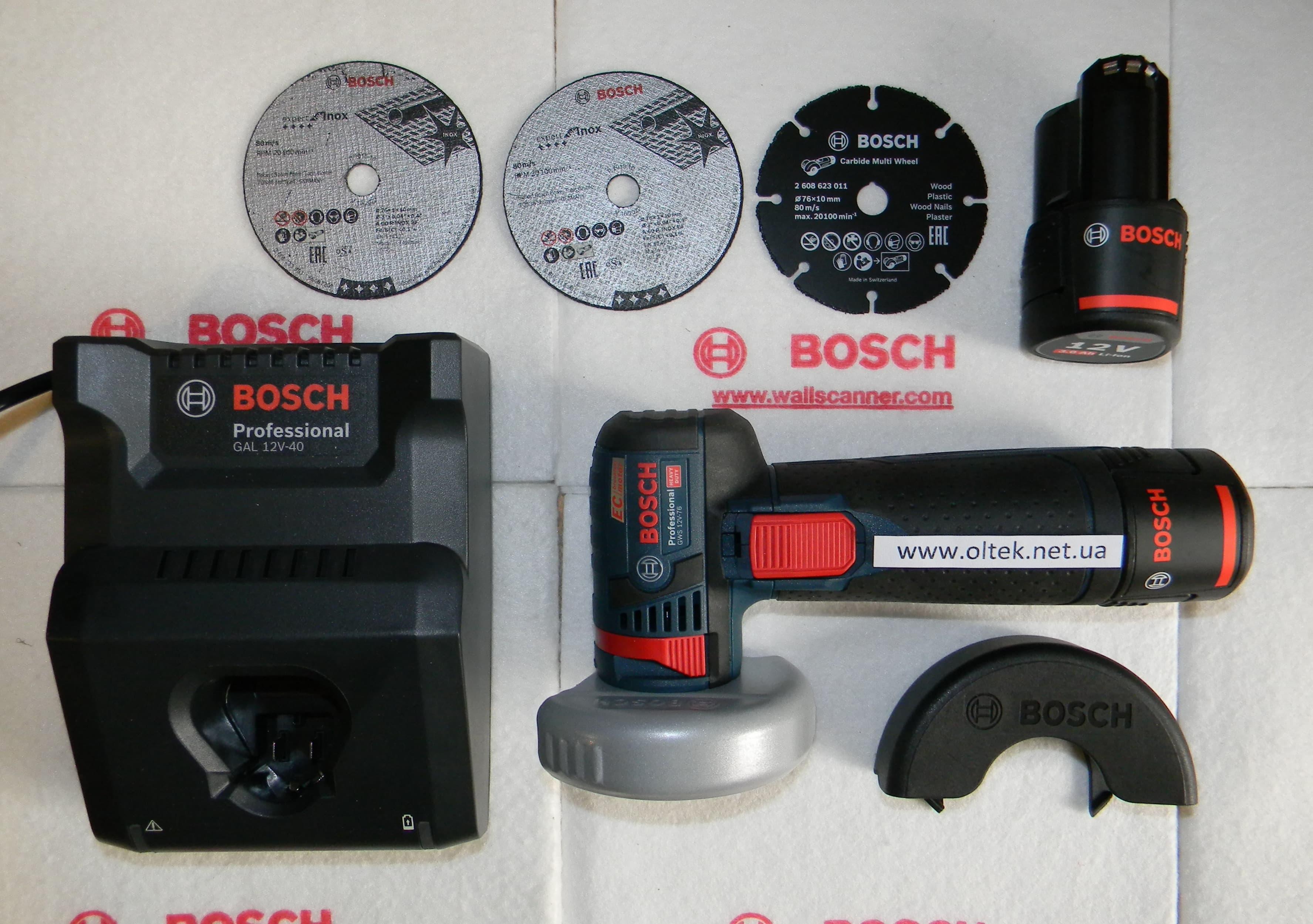 Bosch GWS 12V-76 (2)