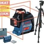 Нивелир Bosch GLL 3-80 + BT 150 0601063S0D