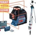 Нивелир Bosch GLL 3-80 + BT 250 060106330B